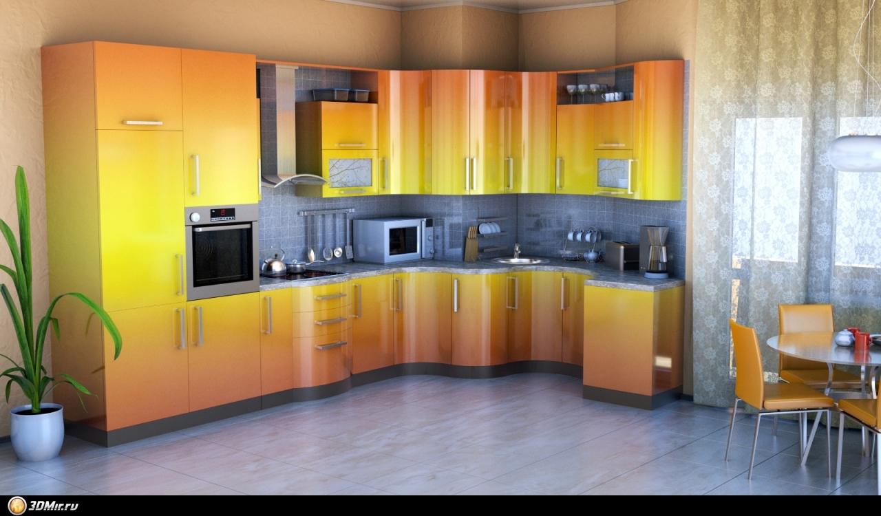 Кухни эмаль всех цветов