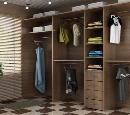 Шкафы-купе для гардеробной комнаты.