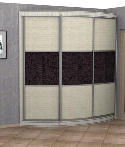 Радиусный шкаф-купе Симон РИО