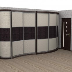 Радиусный шкаф-купе Пандора