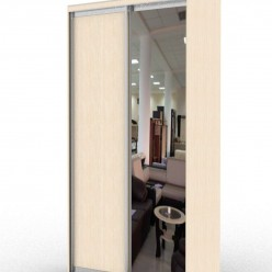 стандартный шкаф с двумя дверьми