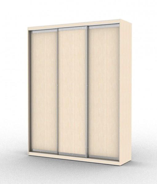 стандартный шкаф-купе с тремя дверьми